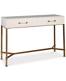 Ava Gold Iron Sofa Table, Quick Ship