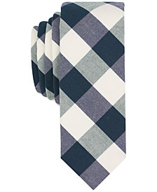 Original Penguin Men's McCord Check Skinny Tie