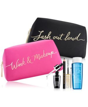 Choose your Free Cosmetic Bag with any Lancome Mascara purchase