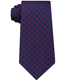 Michael Kors Men's Dress Code Gingham Silk Tie