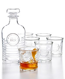 Officina 7-Pc. Whiskey Set