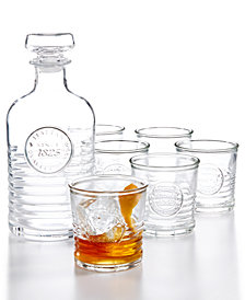 Bormioli Rocco Officina 7-Pc. Whiskey Set