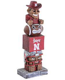 Evergreen Enterprises Nebraska Cornhuskers Tiki Totem
