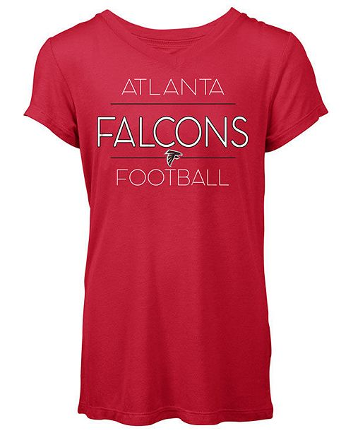 5th & Ocean Women's Atlanta Falcons Rayon V T-Shirt