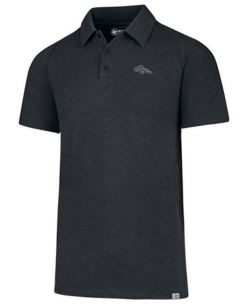 '47 Brand Men's Denver Broncos Forward Gravity Polo