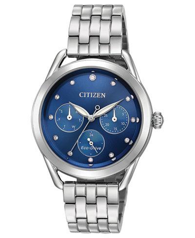 Citizen Drive from Citizen Eco-Drive Women's Stainless Steel Bracelet Watch 38mm