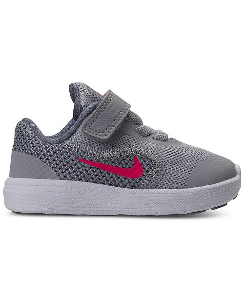 Nike Toddler Girls Revolution 3 Running Sneakers From Finish Line 13 Reviews Main Image