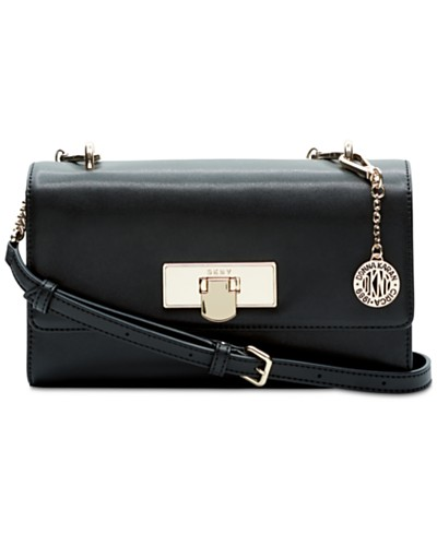 DKNY Cassie Small Flap Crossbody, Created for Macy's