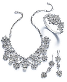 Givenchy Crystal Cluster Jewelry Collection
