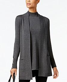 Petite Sleeveless Mock Neck Sweater, Created for Macy's