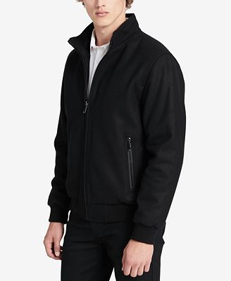 Calvin Klein Men's Bomber Jacket - Coats & Jackets - Men - Macy's