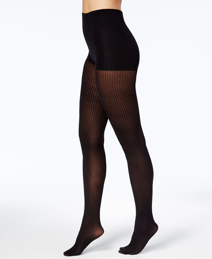 DKNY - Women's Ribbed Skinsense Tights