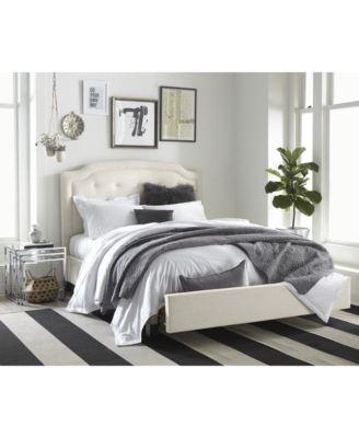 Malinda Upholstered Storage California King Bed