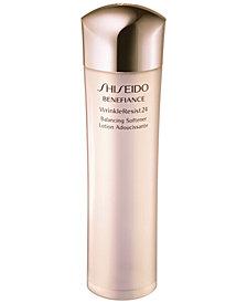Shiseido Benefiance WrinkleResist24 Balancing Softener, 10 oz.
