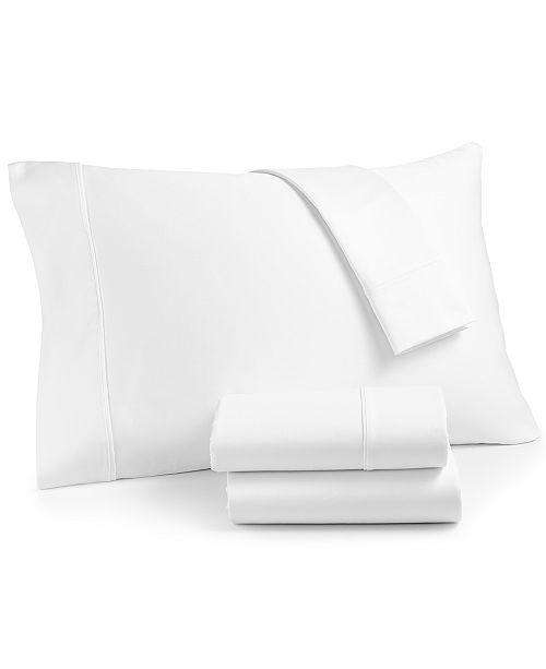 AQ Textiles CLOSEOUT! Landry 4-Pc. Queen Extra Deep Sheet Set, 1200 Thread Count Combed Cotton