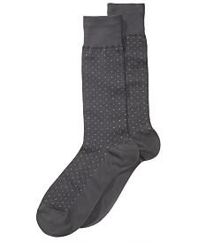 Perry Ellis Men's Socks, Pin Dot Men's Socks