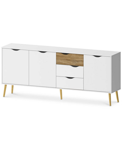 Sorena 3-Drawer Sideboard, Quick Ship