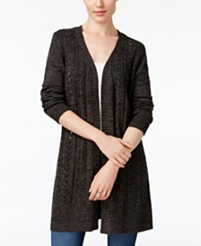 Karen Scott Turbo Duster Cardigan, Created for Macy's