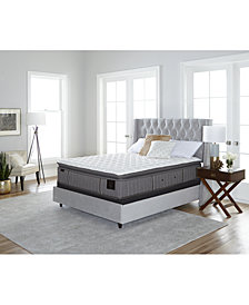 "Stearns & Foster Estate Palace 15.5"" Luxury Firm Euro Pillow Top Mattress Set- Twin XL"
