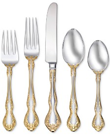 Oneida Golden Mandolina 45-Pc. Flatware Set