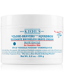 Kiehl's Since 1851 Close-Shavers Squadron Ultimate Brushless Shave Cream - Blue Eagle, 8-oz.