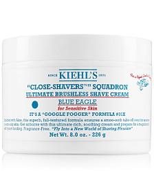 Kiehl's Since 1851 Close-Shavers Squadron Ultimate Brushless Shave Cream - Blue Eagle, 8-oz.