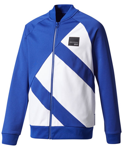 adidas Originals Quarterly Stories EQT Track Jacket, Big Boys