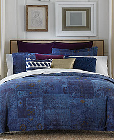 Tommy Hilfiger Madrona 3-Pc. Patchwork Full/Queen Duvet Cover Set
