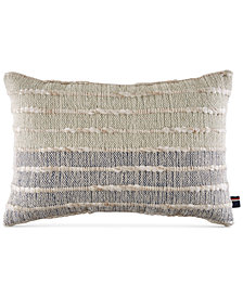 "Tommy Hilfiger Indigo Ombré 12"" x 18"" Decorative Pillow"