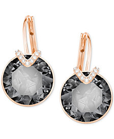 Swarovski Crystal & Pavé Drop Earrings