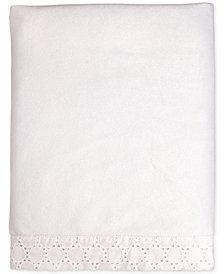 Carter's Lily Embroidered Eyelet Velboa Blanket