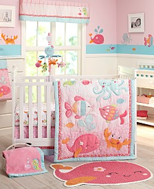 Carter's Sea Collection 4-Piece Crib Bedding Set