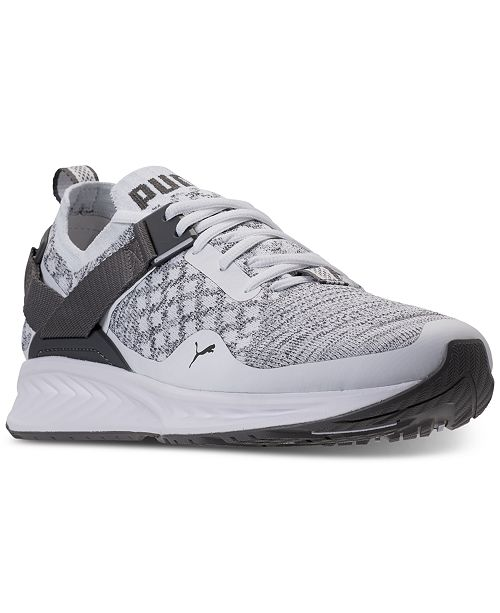 separation shoes fb656 bd49a Puma Men's Ignite Evoknit Lo Casual Sneakers from Finish ...