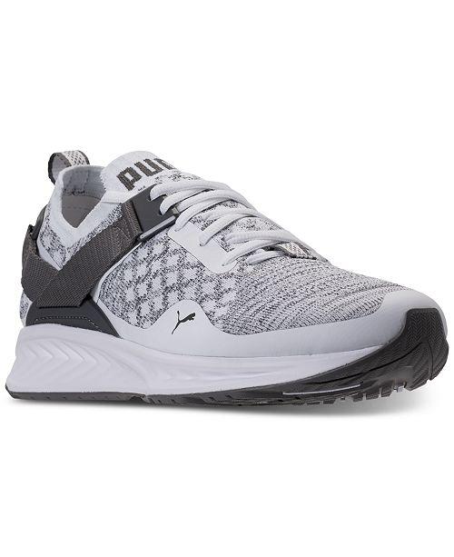 92de01a56b8f Puma Men s Ignite Evoknit Lo Casual Sneakers from Finish Line ...