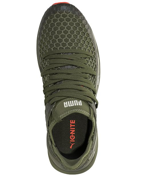640c86ef4d5 ... Puma Men s Ignite Limitless Netfit Casual Sneakers from Finish Line ...