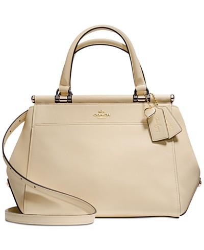 COACH Selena Gomez Grace Bag In Refined Calf Leather
