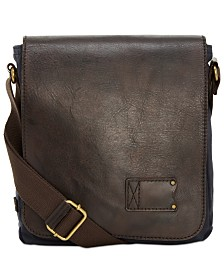 f5e1be0c100 Patricia Nash Nash Men s Tuscan Leather North South Crossbody ...