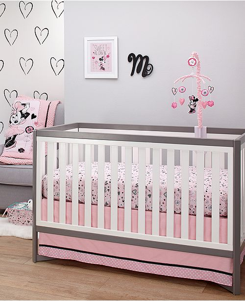 Perk Up Your Baby S Bedroom With This Hello Gorgeous Collection From Disney Featuring Fun Prints And Vibrant Tones