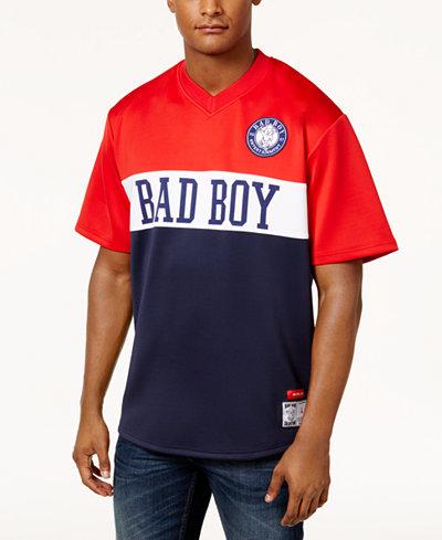 Badboy Men's Colorblocked V-Neck T-Shirt