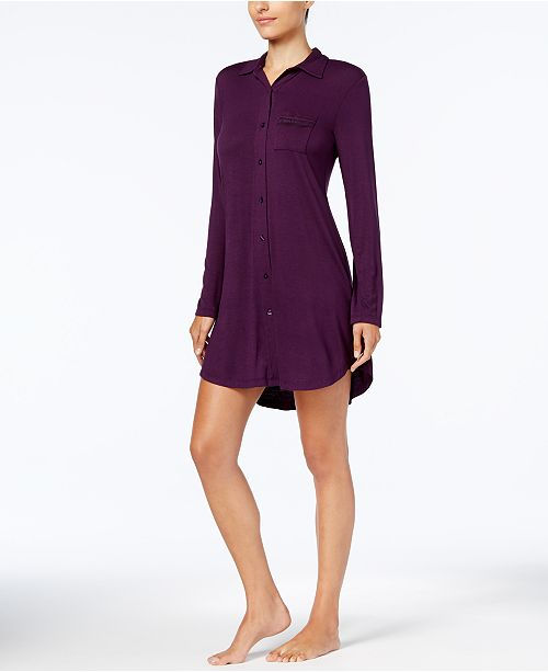 Lace-Trim Sleepshirt, Created for Macy's