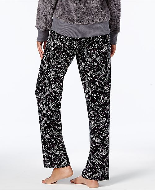 c1ee80cf4101 Alfani Printed Knit Pajama Pants, Created for Macy's & Reviews ...
