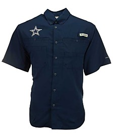 Columbia Men's Dallas Cowboys Tamiami II Button-Up Shirt