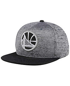 Mitchell & Ness Golden State Warriors Space Knit Snapback Cap