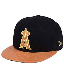 New Era Los Angeles Angels X Wilson Metallic 59FIFTY Fitted Cap