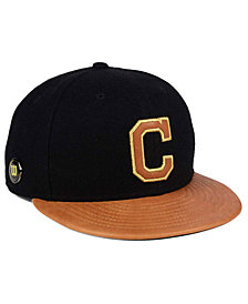 New Era Cleveland Indians X Wilson Metallic 59FIFTY Fitted Cap