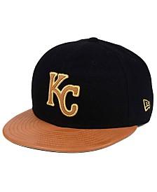 New Era Kansas City Royals X Wilson Metallic 59FIFTY Fitted Cap