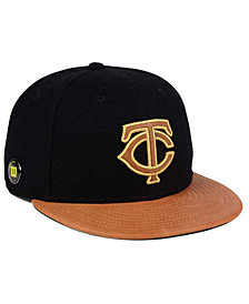 New Era Minnesota Twins X Wilson Metallic 59FIFTY Fitted Cap