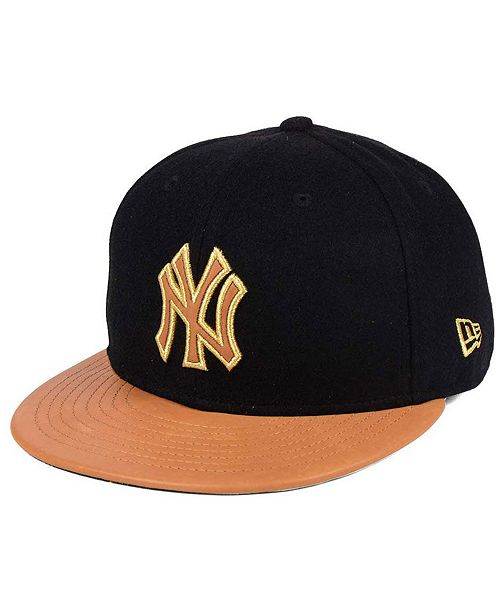df1b44e0c2d90 ... New Era New York Yankees X Wilson Metallic 59FIFTY Fitted Cap ...