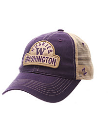 Zephyr Washington Huskies Route Trucker Snapback Cap