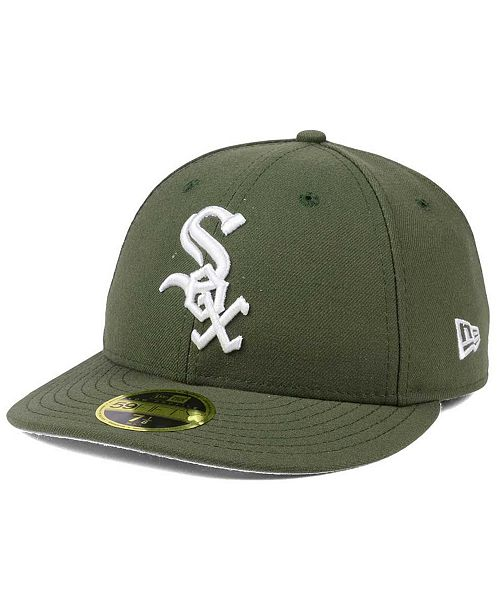 factory price 5592a 19aeb ... where to buy new era. chicago white sox low profile c dub 59fifty  fitted cap